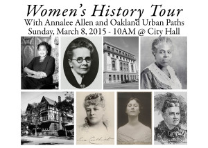 Women's History Tour @ Oakland City Hall | Oakland | California | United States