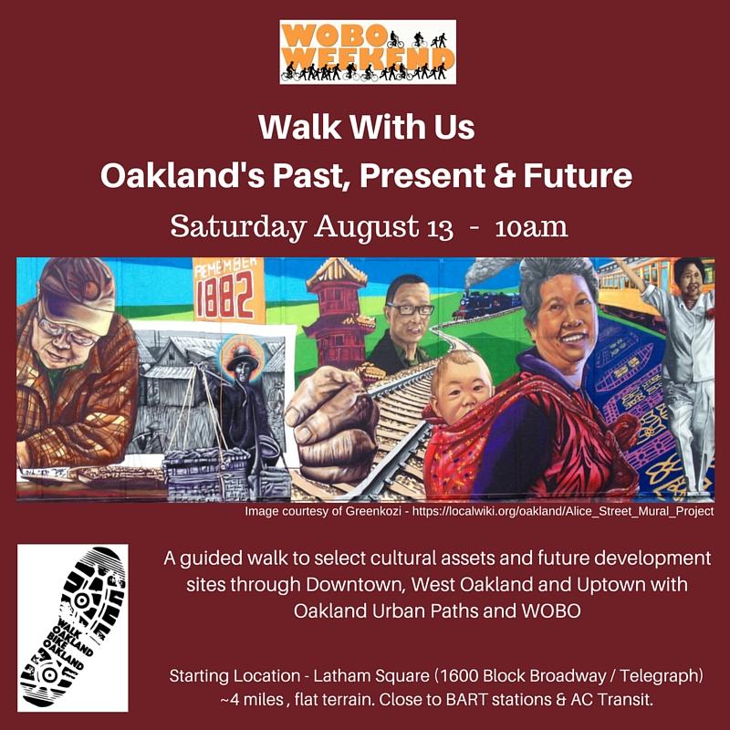 WOBO + StreetWyze Walk @ Latham Square | Oakland | California | United States